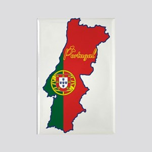 Cool Portugal Rectangle Magnet